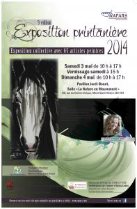 2014 Affiche Mont-St-Hilaire 3 et 4 mai