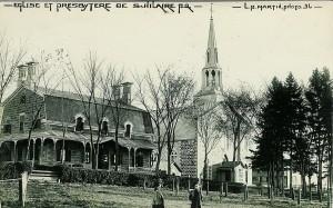 La paroisse église et presbytère