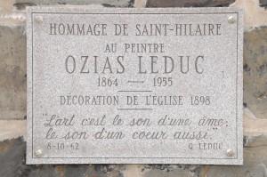 plaque église